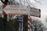 Een wegwijzer in Gramsbergen