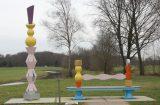 Kunstwerken bij sluis de Pol in de Oude IJssel