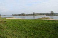 Laag water in de IJssel